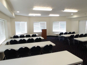 Conference at The Cherry Tree Inn & Suites.