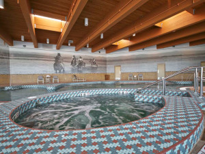 Indoor pool at Sky Ute Casino Resort.