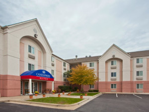 Exterior view of Candlewood Suites DETROIT-WARREN.
