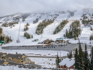 Skiing at Family Time Vacation Rentals.