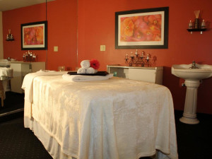 The spa at the Olympia Resort: Hotel, Spa and Conference Center.