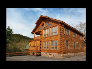 Cabin exterior at Eden Crest Vacation Rentals, Inc. - Da' Crawfish Hole.