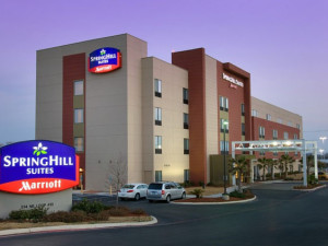 Exterior View of SpringHill Suites San Antonio Airport