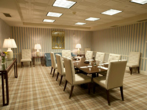 Intimate conference room at The Otesaga Resort Hotel.