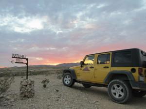 Jeep rentals at Lajitas Golf Resort & Spa.