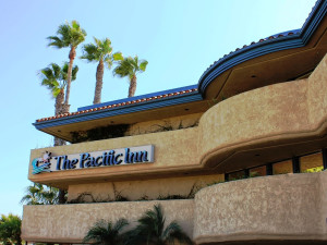 Exterior view of The Pacific Inn.