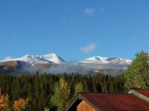 Mountain view at Range View Rentals.