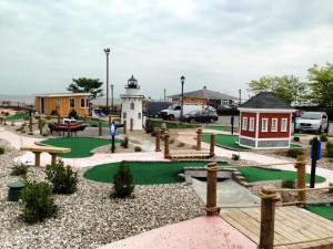 Mini golf course near Saybrook Point Inn & Spa.