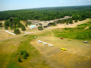 Aerial View of Telemark Resort and Convention Center