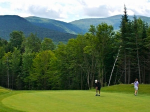 Golf at Waterville Valley Golf Course