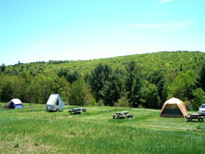 Campground at Abbotts Glen.