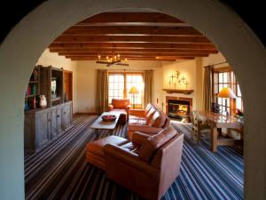Suite living area at Hotel Chimayo de Santa Fe.