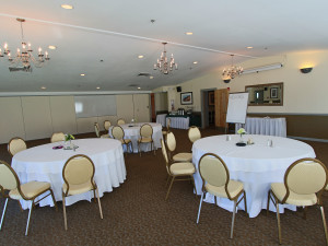 Conference room at Atlantic Oceanside Hotel & Conference Center.