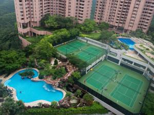 Exterior view of Hong Kong Parkview Hotel.
