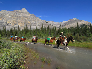 Horseback riding at The Outpost at Warden Rock.