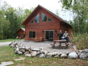 Cabin Exterior at Pike Bay Lodge