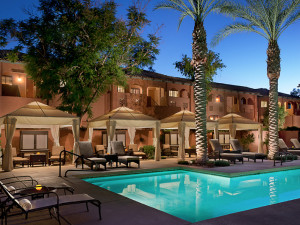 Outdoor Swimming Pool at Holiday Inn Club Vacations Scottsdale Resort