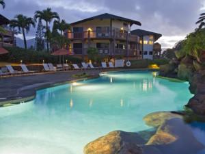 Outdoor pool at Wyndham Ka 'Eo Kai.