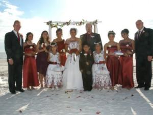 Wedding at Lighthouse Resort Inn & Suites.