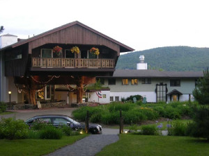 Exterior view of Stowehof Inn & Resort.