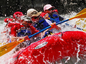 White Water Rafting at Parkway Inn