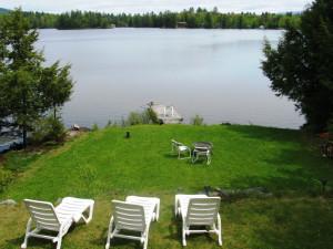 Lake view at Franconia Notch Vacations Rental & Realty.