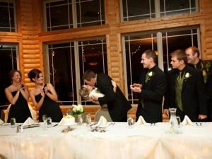 Wedding at Thumper Pond Golf Course & Resort.
