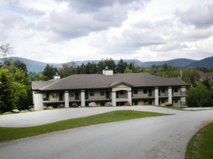 Exterior view at Hillside Inn at Killington.