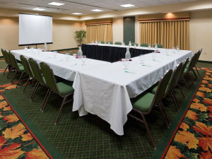 Conference room at Holiday Inn Minneapolis.