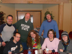 Group at Garland Lodge & Resort.