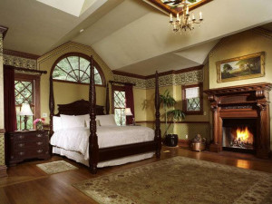 Master Suite at Pink Mansion.