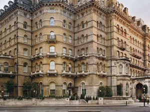 Exterior view of The Langham, London.