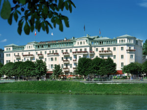 Exterior view of Hotel Sacher Salzburg.