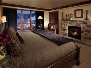 Guest suite at The Pines Lodge, A Rock Resort.