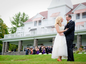 Wedding at Windermere House.