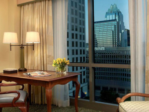 City view room at Four Season Hotel - Austin.