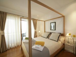Bedroom at Playa Blanca.