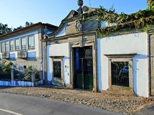 Exterior view of Casa de Alfena - Minho (Northern Portugal).