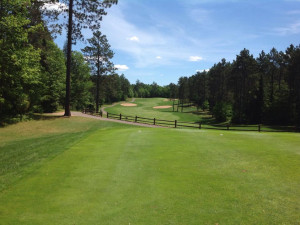 St. Germain Golf Club near Northernaire Resort.