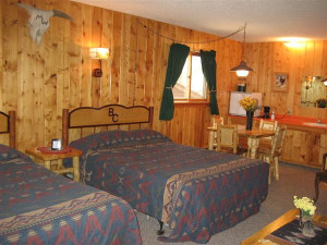 Cabin Interior at Bill Cody Ranch