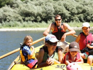 Rafting at Marble Mountain Guest Ranch