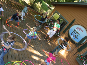 Group activities at Ruttger's Bay Lake Lodge.