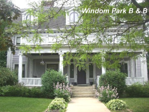 Exterior view of Windom Park Bed & Breakfast.