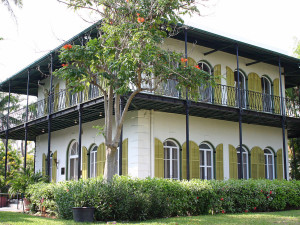 Earnest Hemingway House near Tranquility Bay Beach House Resort.