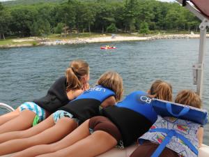 Kids at Railey Mountain Lake Vacations.
