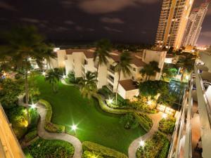 Exterior view of Golden Strand Ocean Villa Resort.
