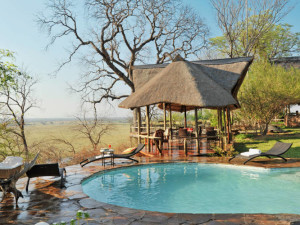 Outdoor pool at Muchenje Safari Lodge.
