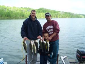 Fishing at Isle O' Dreams Lodge.