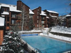 Outdoor Pool at Timber Run Condominiums