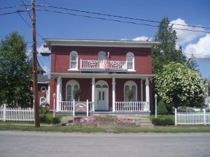 Exterior view of Pennsylvania Gast-Haus.